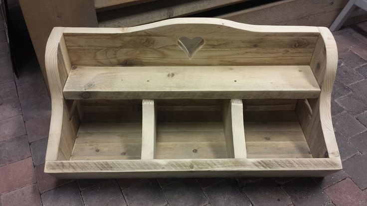 Gruttersbak van steigerhout 70x35x25 cm. Te bestellen en te maken @ GoedGevonden