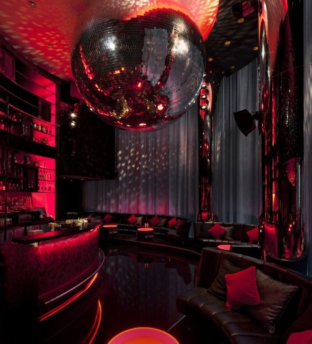 Concrete Architectural Associates | W Hotel London Leicester Square mesh curtain…