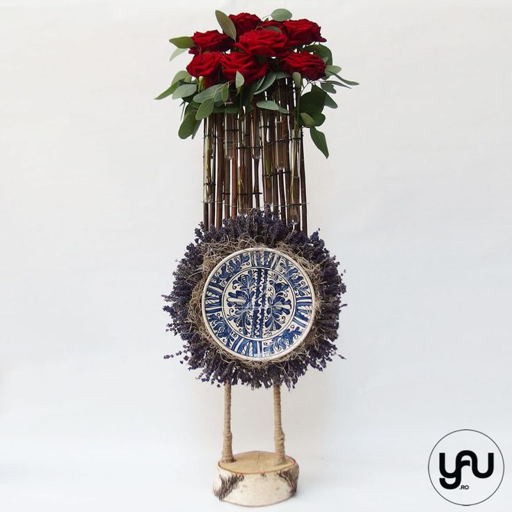 Decor floral ceramica romaneasca FARFURIA YaUconcept ElenaTOADER