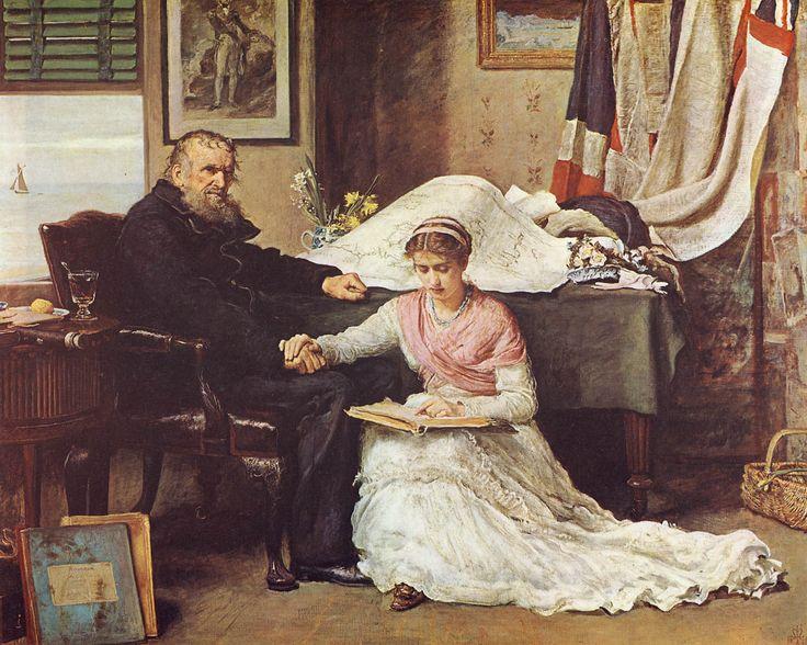 John Everett Millais - The North-West Passage  1874