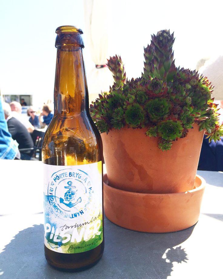 Beer label for Hörte Brygga. @matildasvenssoncom matildasvensson.com