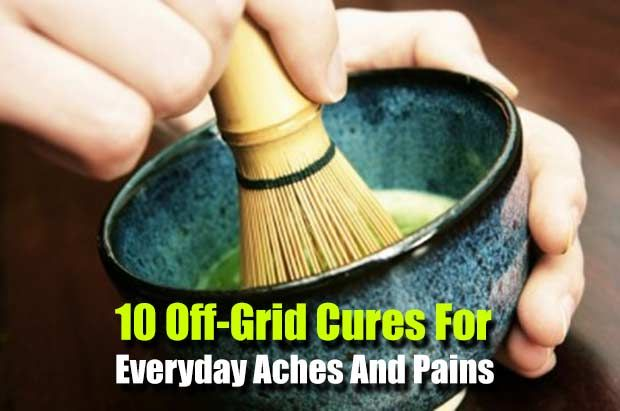 10 Off-Grid Kitchen Cures For Everyday Aches And Pains - SHTF, Emergency Preparedness, Survival Prepping, Homesteading