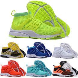 Wholesale Cheap Running Shoes Men Women Air Presto Shoes Walking Shoes High Cut Sports Shoes Free Drop Shipping Size 5.5-11