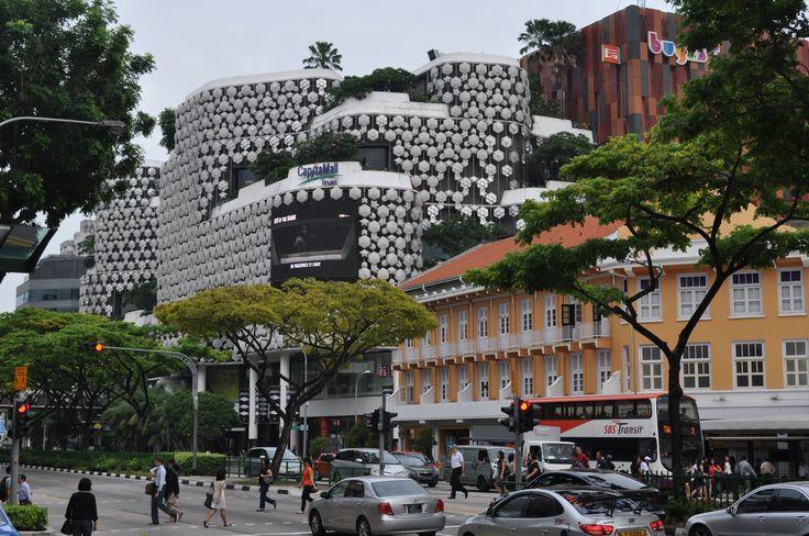 'Singapore 43 Years On' Near Bugis Street.