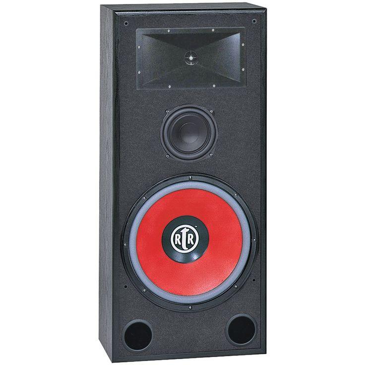 "Bic America 15"" Eviction Rtr Series 3-way Bi-ampable Floor Speaker"