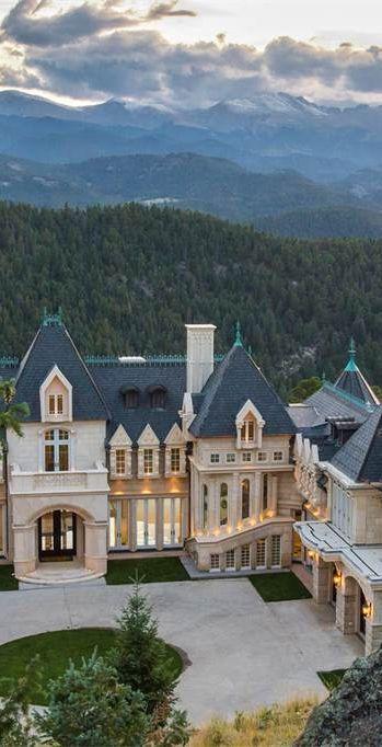 luxury home styled like a chateau