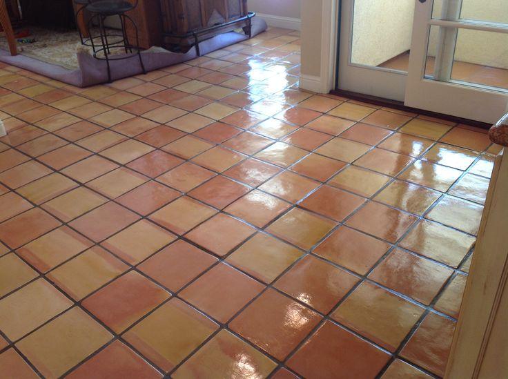 Saltillo Tile Floor Polish