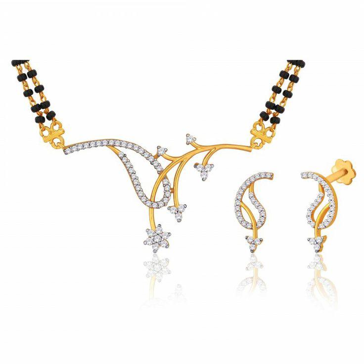 Peora | Tusti - 18 Karat Gold Plated - Mangalsutras - Women's Jewellery - Jewellery | Fine Silver Jewellery