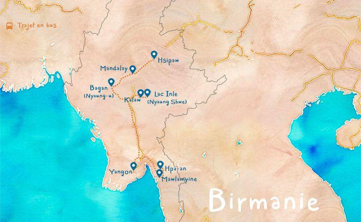 Itinéraire Birmanie bonnes adresses