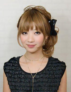 髪型・ヘアカタログ・ヘアアレンジ:控えめアップスタイル/Hair PiLe [ヘアーパイル](旭川)の美容室情報|KamiMado(かみまど)