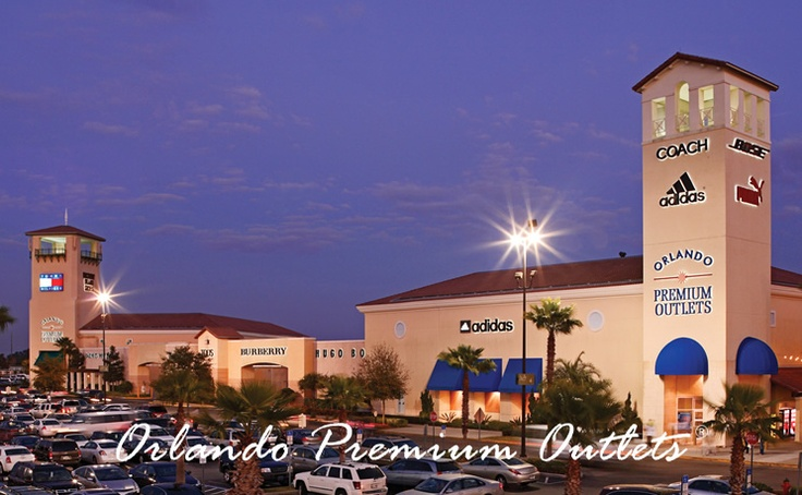 Orlando Premium Outlets - International Dr   4951 International Drive   Orlando, FL 32819   (407) 352-9600     180 OUTLET STORES     Find impressive savings at BCBG Max Azria, Coach, Cole Haan, J.Crew, Kenneth Cole, Lacoste, Michael Kors, Lacoste, Last Call by Neiman Marcus, Polo Ralph Lauren, Saks Fifth Avenue Off 5th, Thomas Pink, Tourneau, Victoria's Secret, White House Black Market .