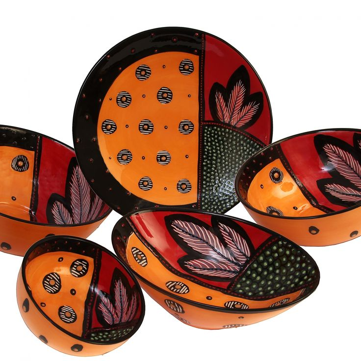 ISUNA South African Arts + Crafts | Design Indaba.  Love the bold colors and designs.