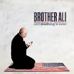 Brother Ali - Mourning In America And Dreaming In Color on Multi-Color Splatter 2LP + Download Card