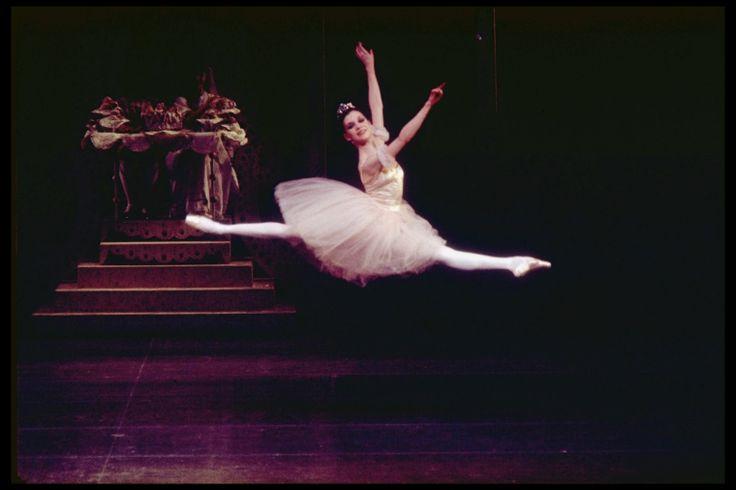 Gelsey Kirkland as the Sugar Plum Fairy, in a New York City Ballet ...