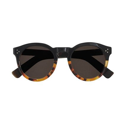 Bold and eye-catching, Illesteva sunglasses are designed in New York City with a downtown-cool aesthetic that makes them a favorite among the international fashion set. They're handcrafted with top-quality materials from Italy and France, where some of the best eyewear is made. <ul><li>Acetate frames.</li><li>Come with case.</li><li>Made in Italy.</li><li>Online only.</li></ul>