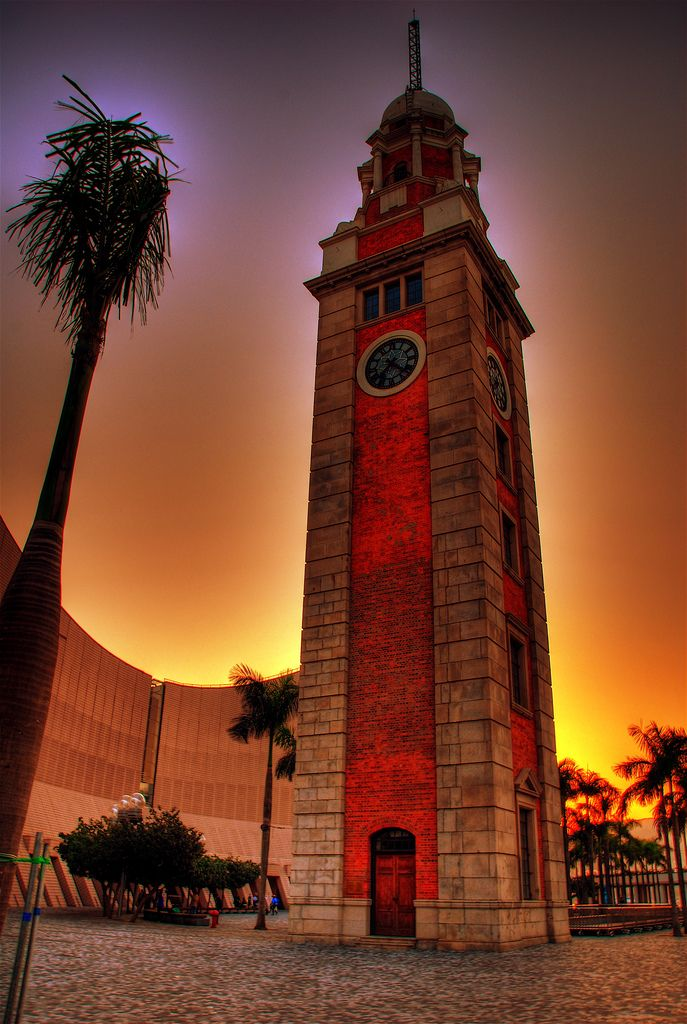 https://flic.kr/p/zoemx | The Old Clock Tower | Clock Tower, Kowloon Star Ferry terminus, Hong Kong.