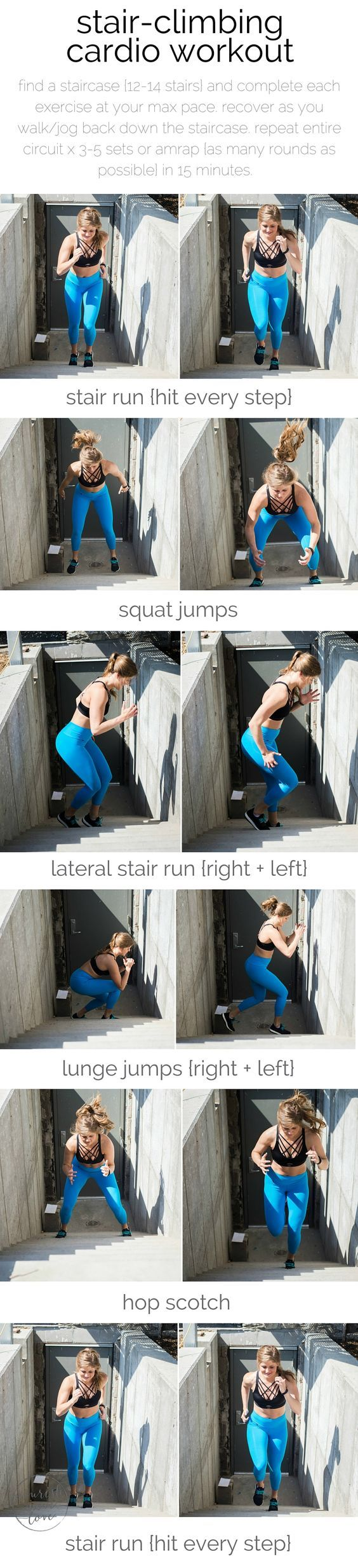 stair-climbing cardio workout | the ultimate stair-climbing, cardio workout for serious fitness gains {and a lifted booty}. | www.nourishmovelove.com