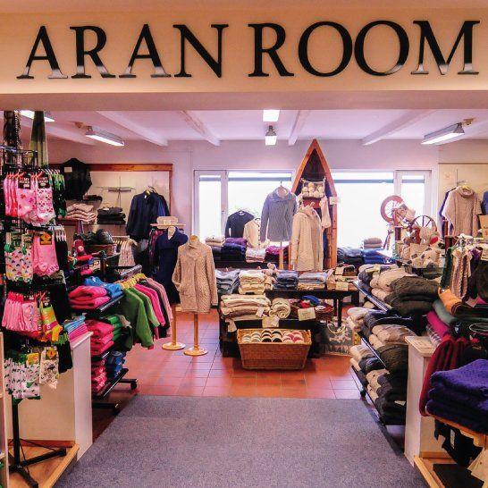 The Aran Room filled with Merino Wool Aran Sweaters, Cardigans and Knitted Accessories <3  http://www.standun.com/