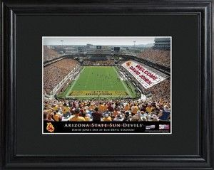 Arizona State Sun Devil Football Stadium Print just in time for the season. Other teams available.