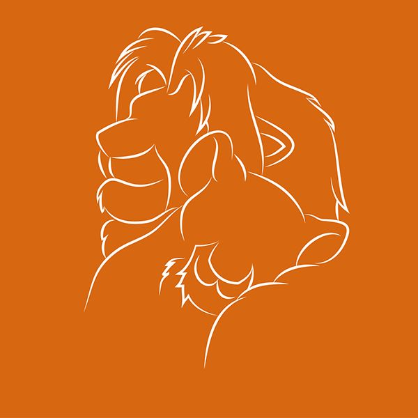 Disney Illustration on Behance: The Lion King