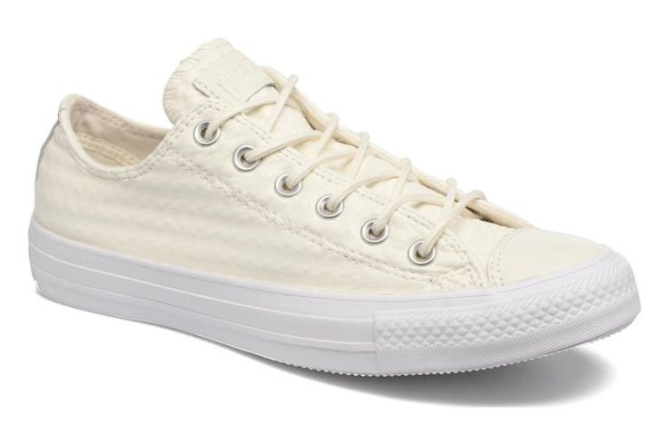 Chuck Taylor All Star Craft Leather Ox W White/white/white