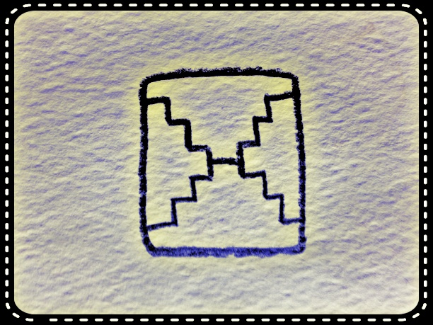 Sellos Solar 18: Espejo Blanco. Reflejar. Sin Fin. Orden.