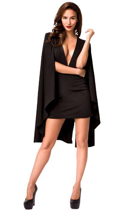 Kleid mit Hängeärmeln https://www.fancy-dresses.de/sexy-mode/cluboutfits/minikleider/kleid-mit-haengeaermeln