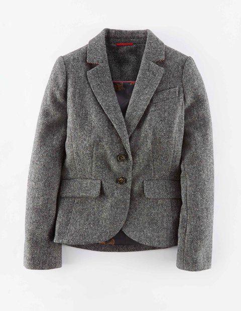 British Tweed Blazer WE501 Coats & Jackets at Boden