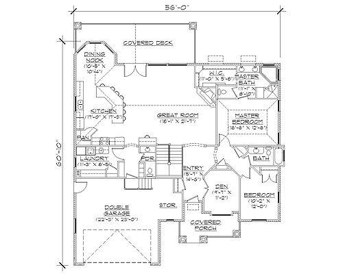 14 best Rambler Floor Plans images on Pinterest | Architecture ...