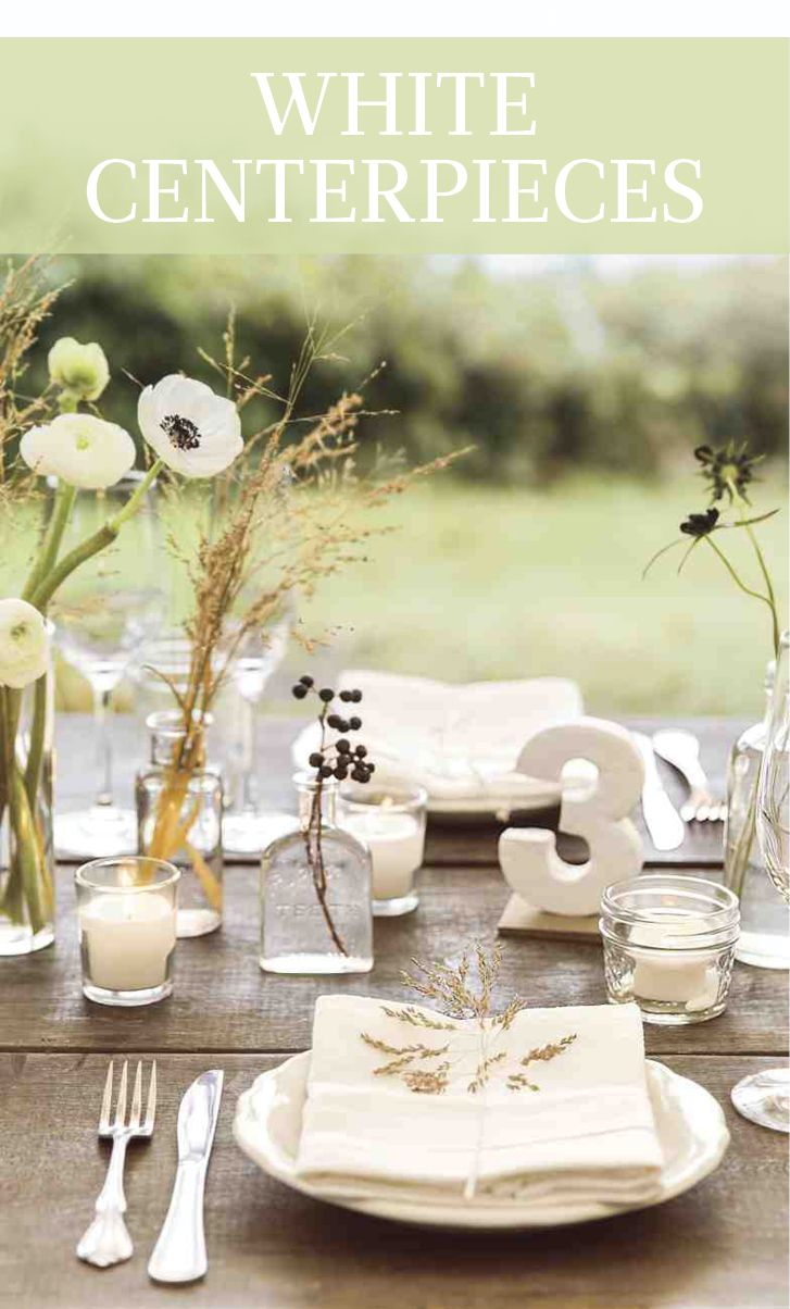 843 best Wedding Centerpieces images on Pinterest