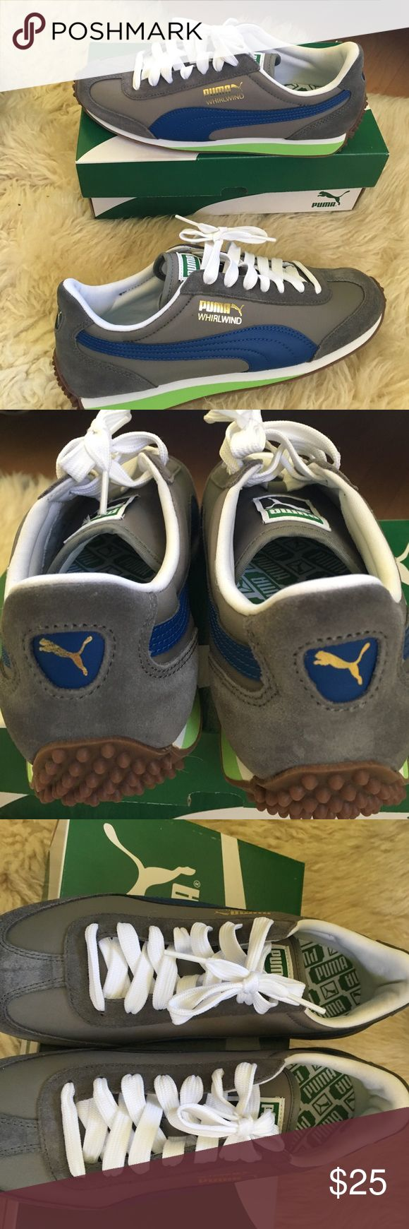 NWT with original box leather puma shoes for men New men's leather  shoes size 7. Too small for my son Puma Shoes Sneakers