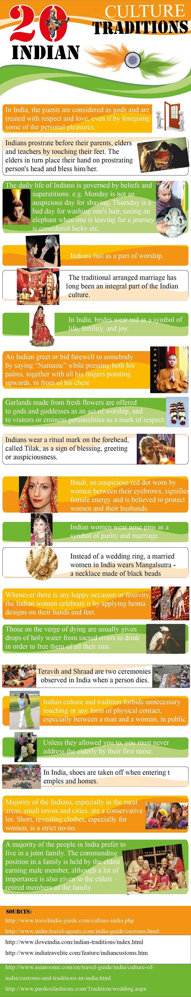 20 facts about Indian culture