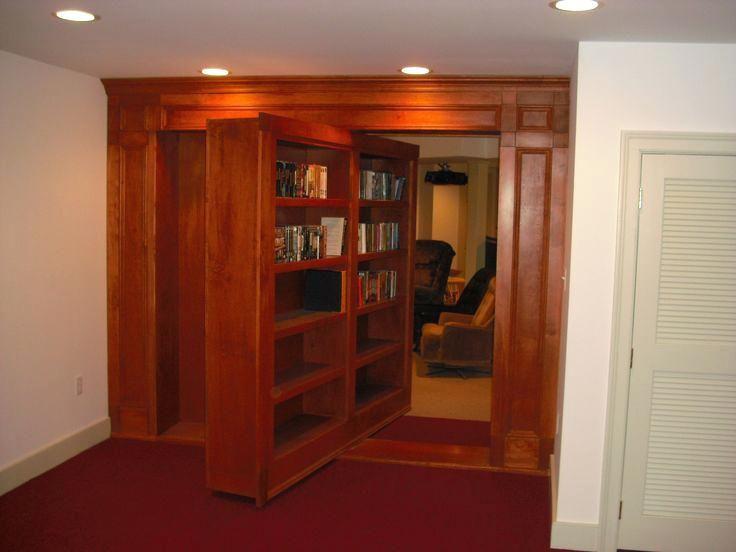 Bookcase 147 Best Hidden Doors Images On Pinterest Hidden Door Bookcase Hidden  Doors And Secret Doors