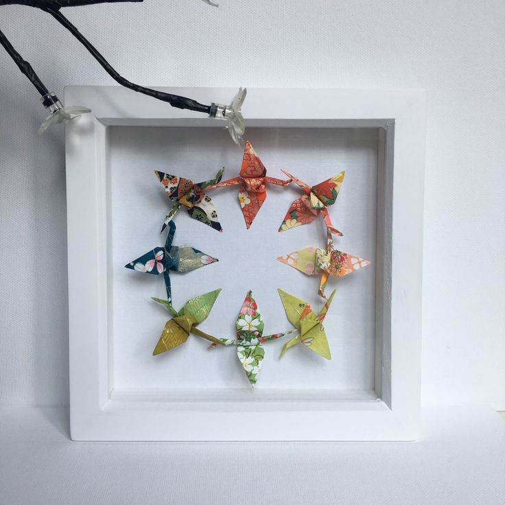 Japanese Origami Wall Art, Japanese Wall Art, Japanese Gift, Japanese Wall  Decor, Japanese Paper Art, Oriental Art, Oriental Gift