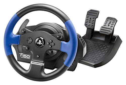 #super The #Thrustmaster T150 Force Feedback Racing Wheel is officially licensed for PS4. Also compatible with PS3 and PC, this wheel features 1080 degree rotati...