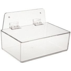 Radnor® Clear Acrylic Tray Style Safety Glasses Dispenser With Lid