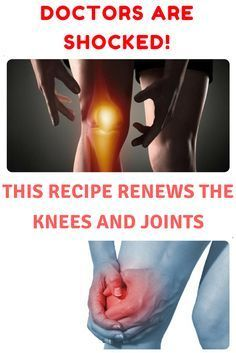 DOCTORS ARE SHOCKED! THIS RECIPE RENEWS THE KNEES AND JOINTS