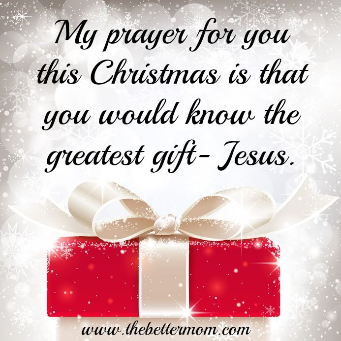The Greatest Gift on Christmas is.... Jesus