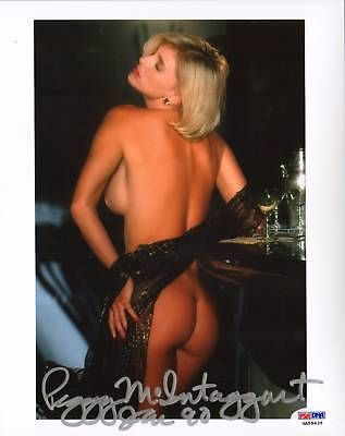 Peggy McIntaggart Signed Playboy 8x10 Photo PSA/DNA COA Playmate Auto'd Picture