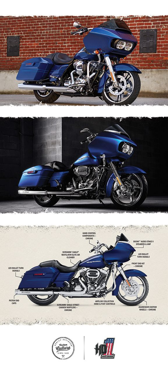 Ride life bigger. | 2016 Harley-Davidson Road Glide Special Vengeance Premium Package