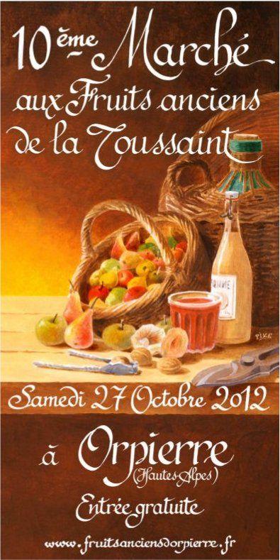 Orpierre 27 Octobre 2012 #orpierre #produitslocaux #baronnies