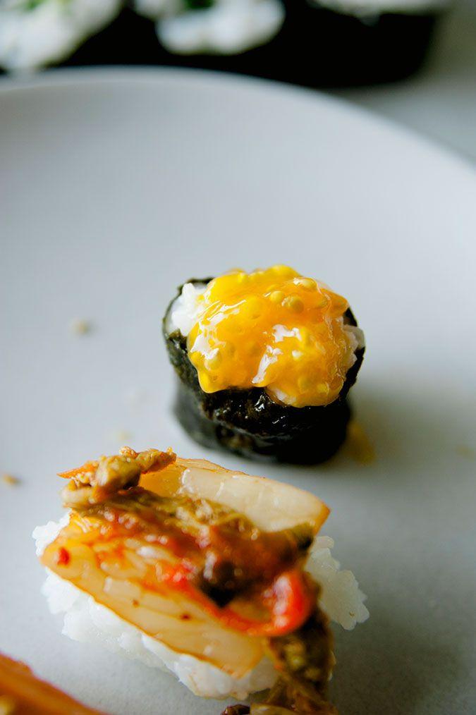 Tomato Ikura Vegan Sushi recipe