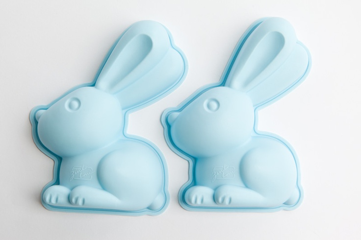 Make your own chocolate's.  Silicone Rabbit mould from Robins Kitchen $5.95.