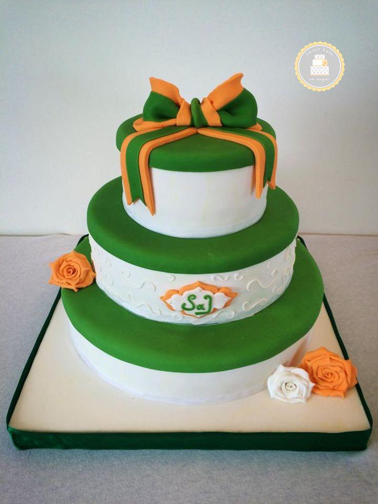 Wedding Cake Citron Cerise