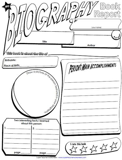 Best 25+ Autobiography Template Ideas On Pinterest