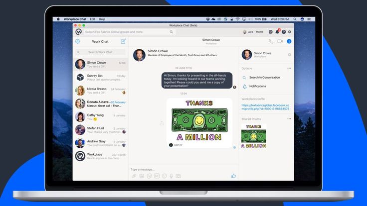 Facebook quietly launches Mac and PC Workplace Chat apps with screen share | TechCrunch