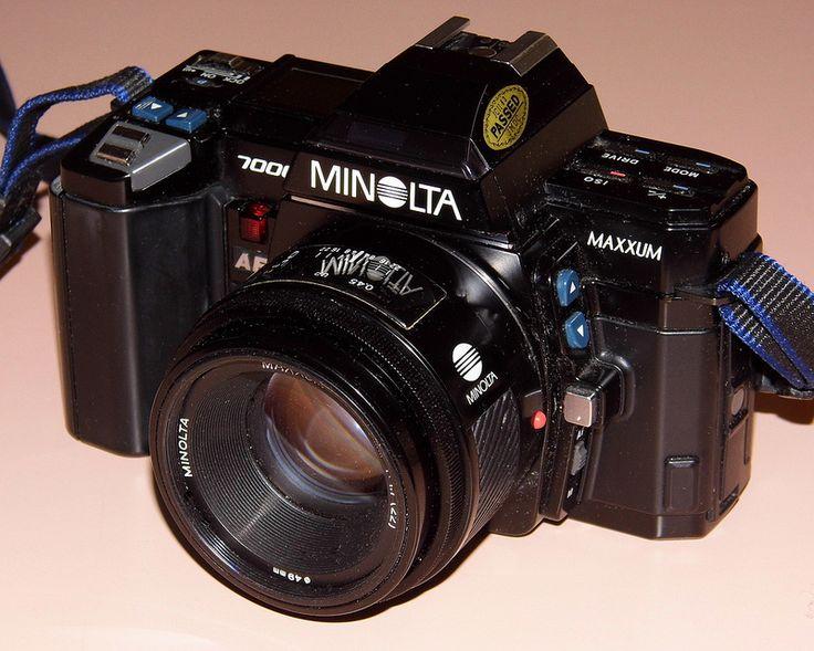Vintage Minolta Maxxum 7000 35mm Autofocus SLR Film Camera ...