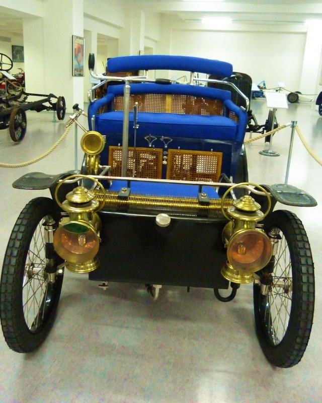 Warburg 5 HP - 1900 - Vintage car at the National Technical Museum of Prague…