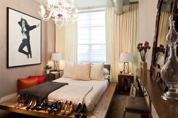 Небольшие спальни - Дизайн интерьеров | Идеи вашего дома | Lodgers