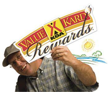KOA Membership--get discounts and earn points